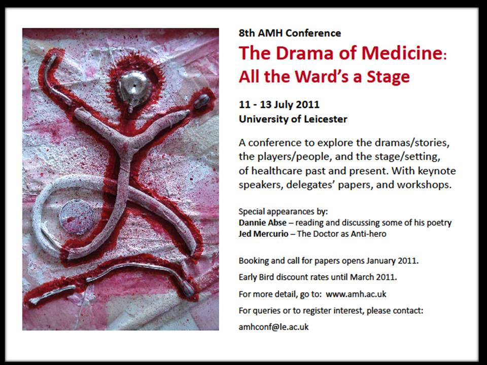 CFP: Association for Medical Humanities Conference – All the Ward's