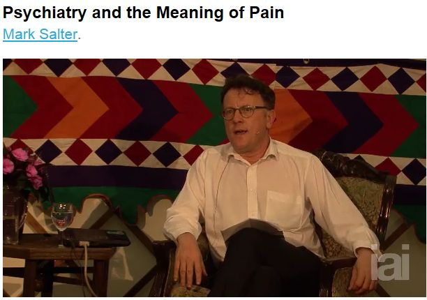 psychiatry and the meaning of pain