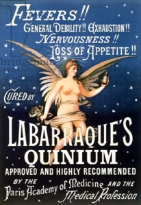 Advertisement for Labarraque's Quinium, late nineteenth century. Courtesy of Bibliotheque Nationale, Paris, France.