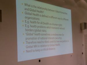 Global health: at what cost?