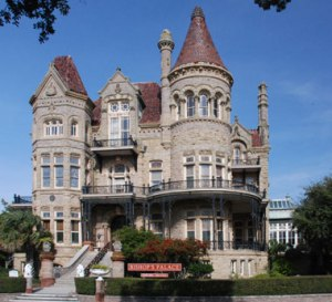 Built of stone and steel for the railroad magnate Walter Gresham and his family, this famous house was designed by Nicholas Clayton, Galveston's premier Victorian-era architect. The Bishop's Palace is recognized as one of America's finest examples of Victorian exuberance and Gilded-Age extravagance